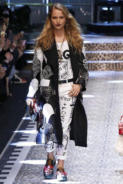 Sailor Brinkley-Cook at Dolce &amp; Gabbana<em></em>