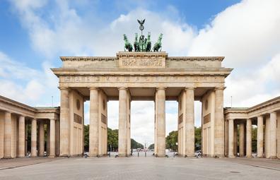 Brandenburger Tor, in Berlin, Germany