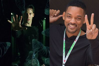 This one is a real doozy! Will Smith could have played Neo but chose to do <i data-width=