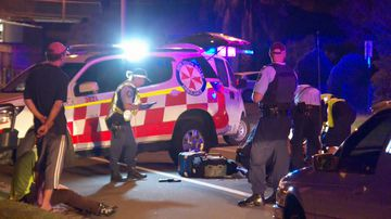 Police have been told the pedestrian was crossing the road when the incident occurred.