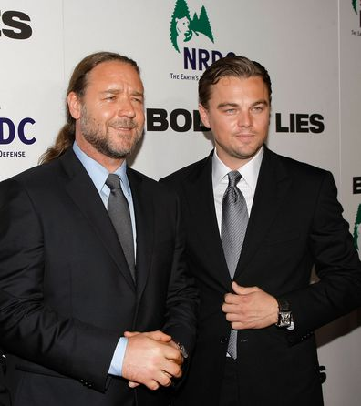 Russell Crowe and Leonardo DiCaprio