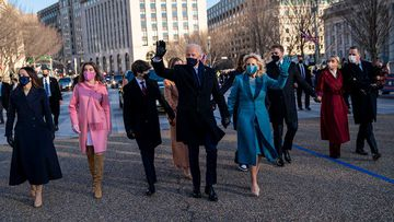 President Joe Biden, First Lady Jill Biden and his family.