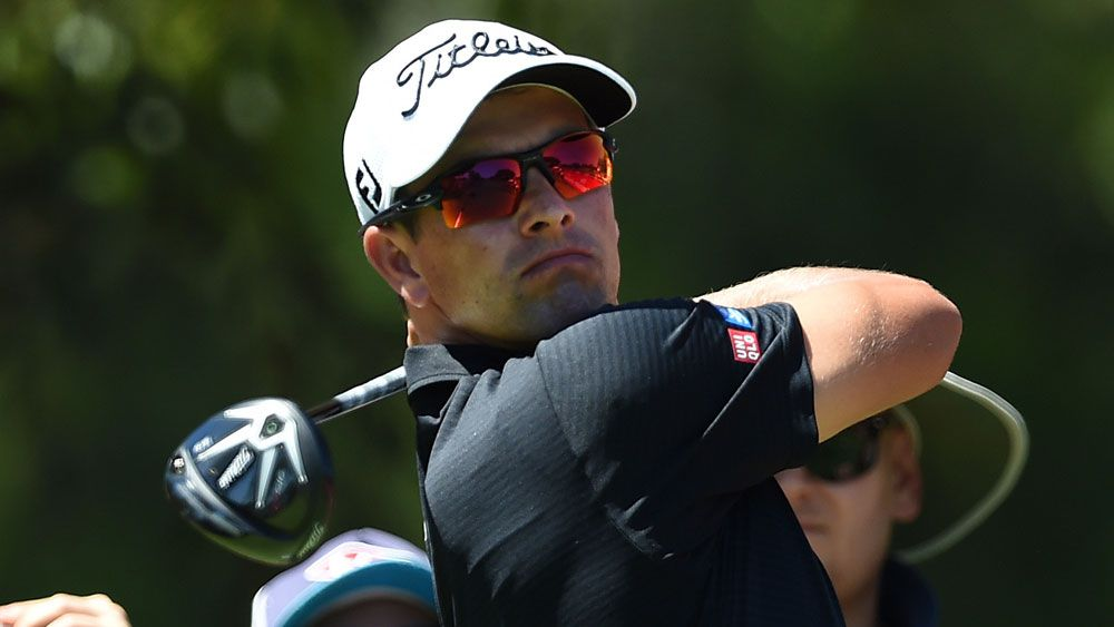 Adam Scott. (AAP)