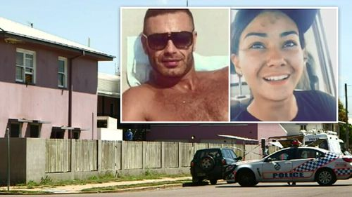 Police arrested French man Smail Ayad (left inset) after British woman Mia Ayliffe-Chung (right inset) was killed at the Home Hill hostel.