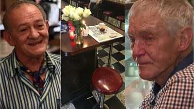 One seat left empty as packed café reopens after death of icon