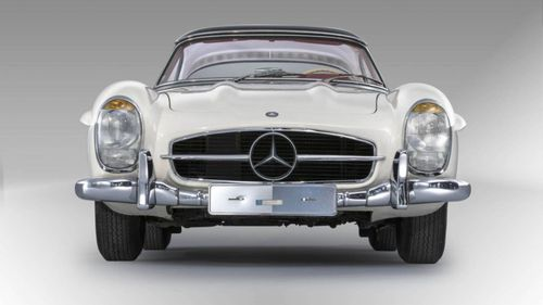 The car sold for nearly twice the amount hoped for in initial estimates. Picture: Artcurial
