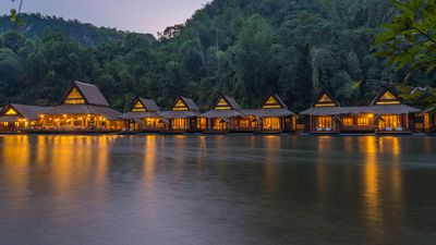 Asia's most luxurious floating hotels
