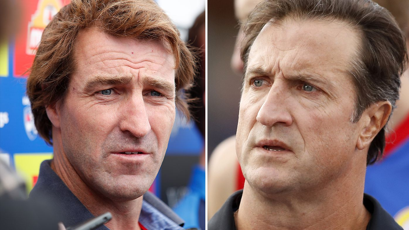 Luke Beveridge responds to Scott West's criticism of son Rhylee's playing time