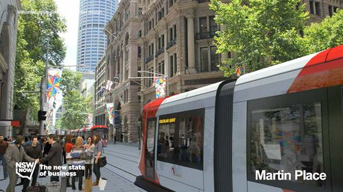 The NSW government has warned Sydneysiders to brace for huge disruptions when its new light rail constructions commence in October. (9NEWS)