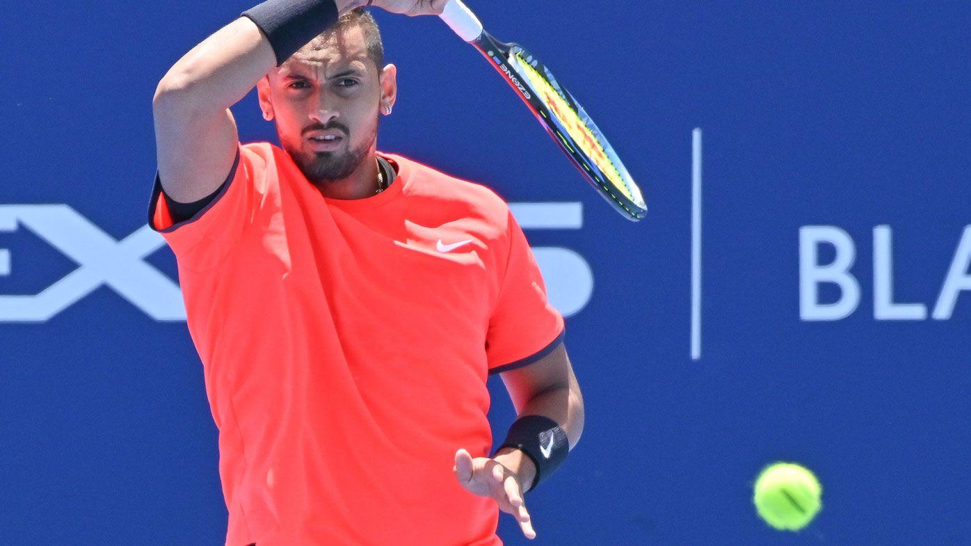 Tennis: Nick Kyrgios has no plans to watch Australian Open draw