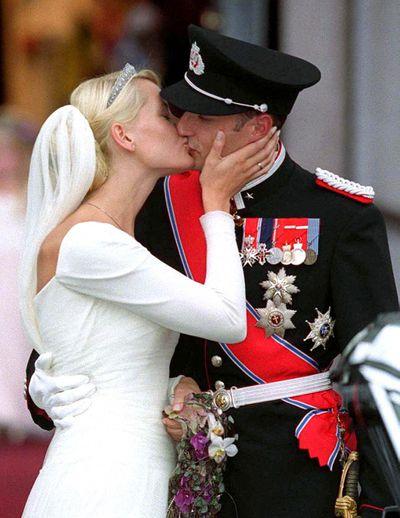 Crown Princess Mette-Marit of Norway: The Diamond Daisy Bandeau tiara