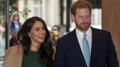 The Duke and Duchess of Sussex are back at work for 2020.