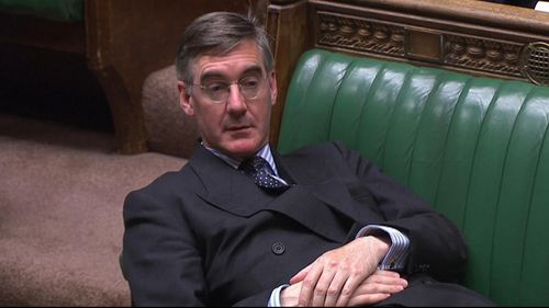 "Tory MP Jacob Rees-Mogg was criticised for his ""contemptuous"" body language during the debate."