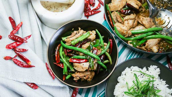 Family Food Fight Giles' Kung Pow Chicken