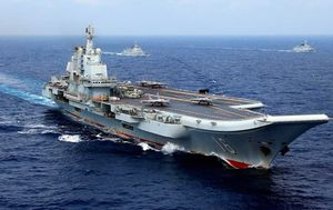 China deploys aircraft carrier after US ships struck by coronavirus