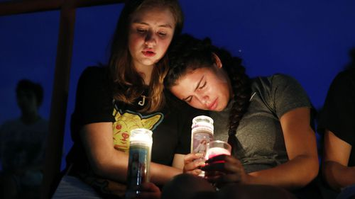 Vigils are being held for the victims in the Texas massacre, which has so far claimed the lives of 20 people.
