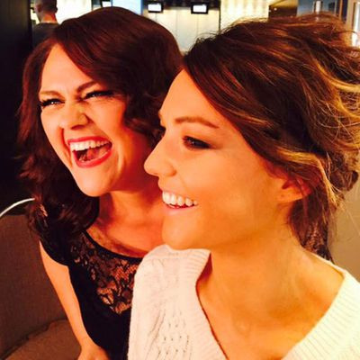 Chrissie Swan and Sam Frost<br>