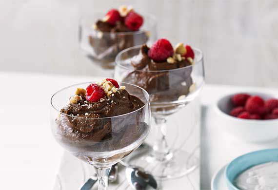 Scotty Gooding's avocado and chocolate mousse
