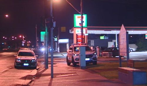 Authorities responded to the crime scene near the Point Nepean Highway after the alleged attack. Picture: 9NEWS