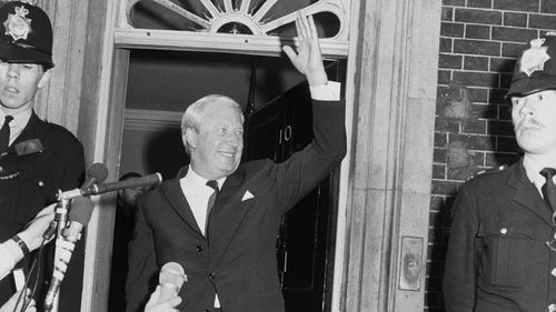 British Prime Minister Edward Heath was falsely accused of being in a pedophile ring.