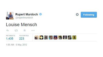 <p>The time Murdoch discovered he could not summon the MP of his choice simply by typing their name into Twitter.</p>