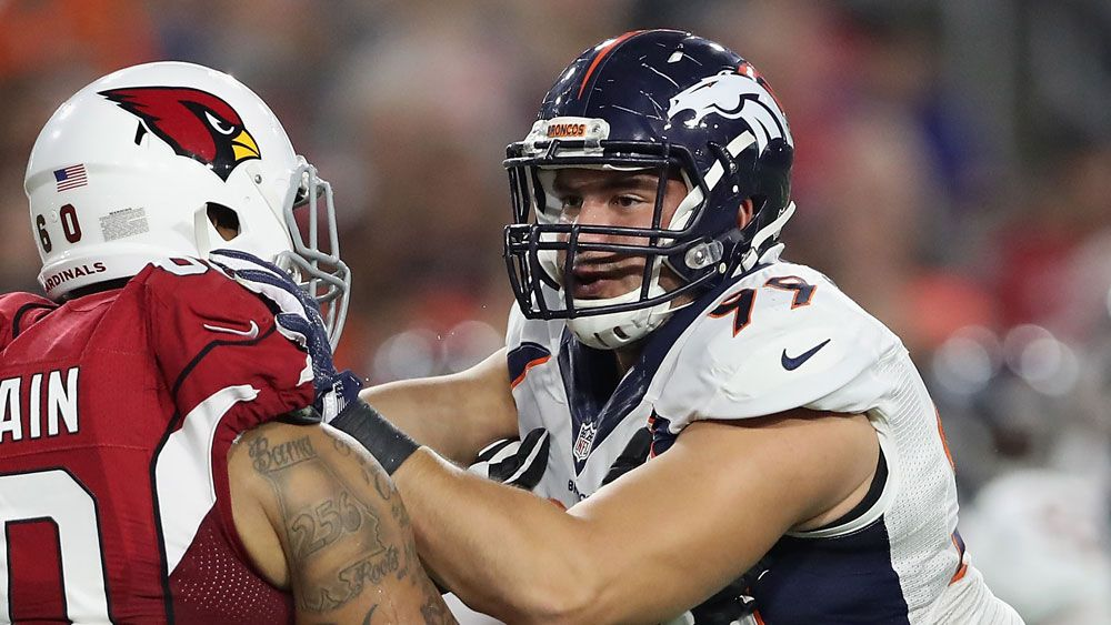 Australian defensive end Adam Gotsis made the cut at Super Bowl champions Denver Broncos.(Getty)