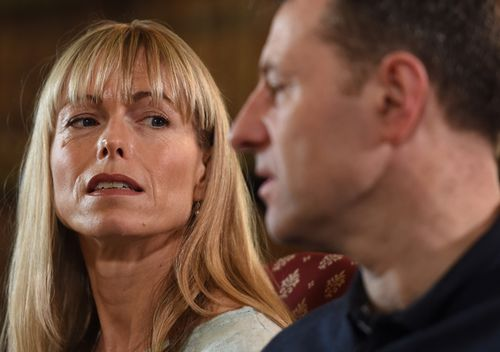 Kate and Gerry McCann received millions of dollars from the public to try and help find their daughter, Madeleine. (AAP)