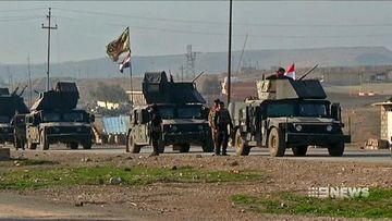 VIDEO: Iraqi soldiers storm Mosul airport