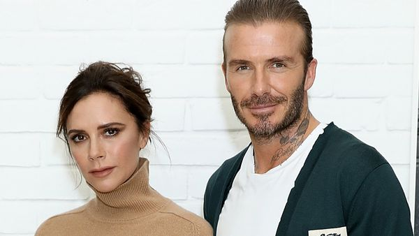 Victoria and David Beckham are now a design duo. Image: Getty