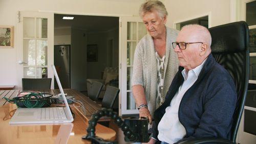 Graham Felstead, 75, has severe paralysis.
