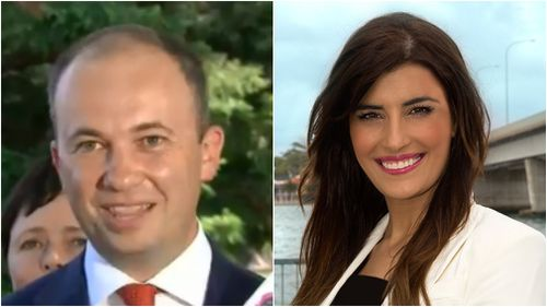 Matt Kean was reportedly caught sexting fellow MP, Eleni Petinos. (9NEWS/NSW Liberal Party)