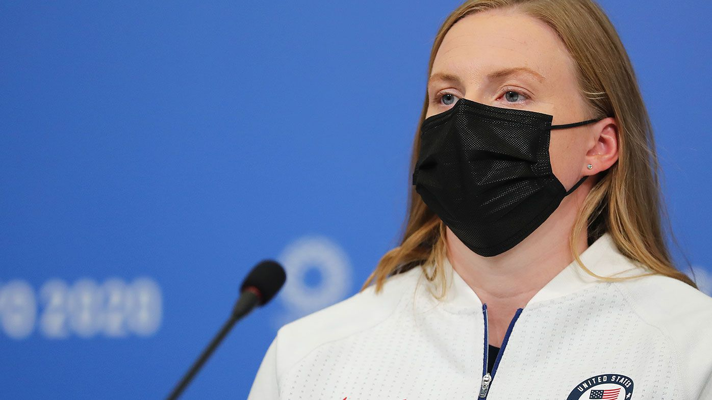 American swim star Lilly  King implies Russians 'should not be here' because of doping