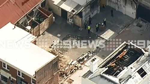 Man suffers serious burns in explosion at South Melbourne worksite