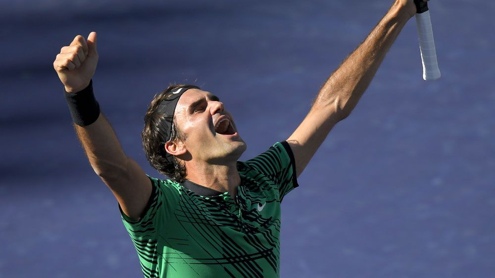 Hot Federer on the way to the top again