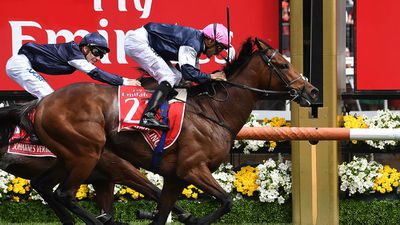 Johannes Vermeer made his move with about 400 metres to go until Rekindling, who had jumped from barrier four, emerged to lay down a serious challenge before he started overhauling him with 100 metres to go.