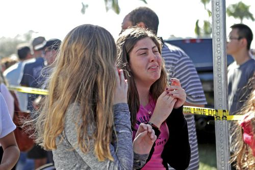 The shooting rocked the community of Parkland in Florida. (AAP)