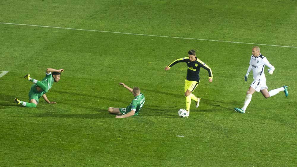 Football: Ozil scores sublime winner in Champions League