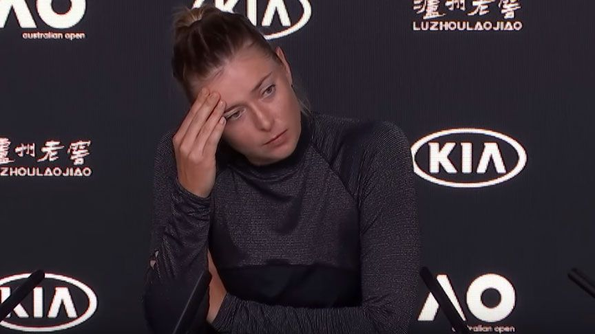 Maria Sharapova refuses to answer question about drug she was banned for using