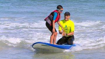 'Ocean Heroes' teaching children with autism water safety through surfing