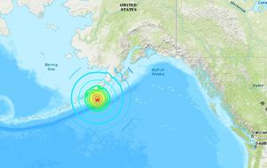 Powerful earthquake hits off Alaska coast, triggering tsunami warning