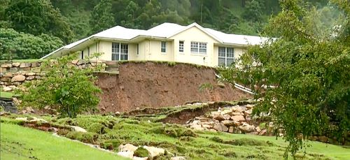 The Wongawallan hillside property today was seen as a ticking time bomb.