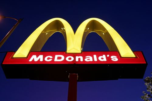 The Golden Arches are the symbol of McDonald's. (AAP)