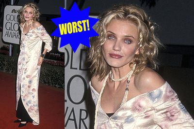 """Cam thought 1999's Globes were a """"come dressed as your favourite Olsen Twin"""" costume party."""