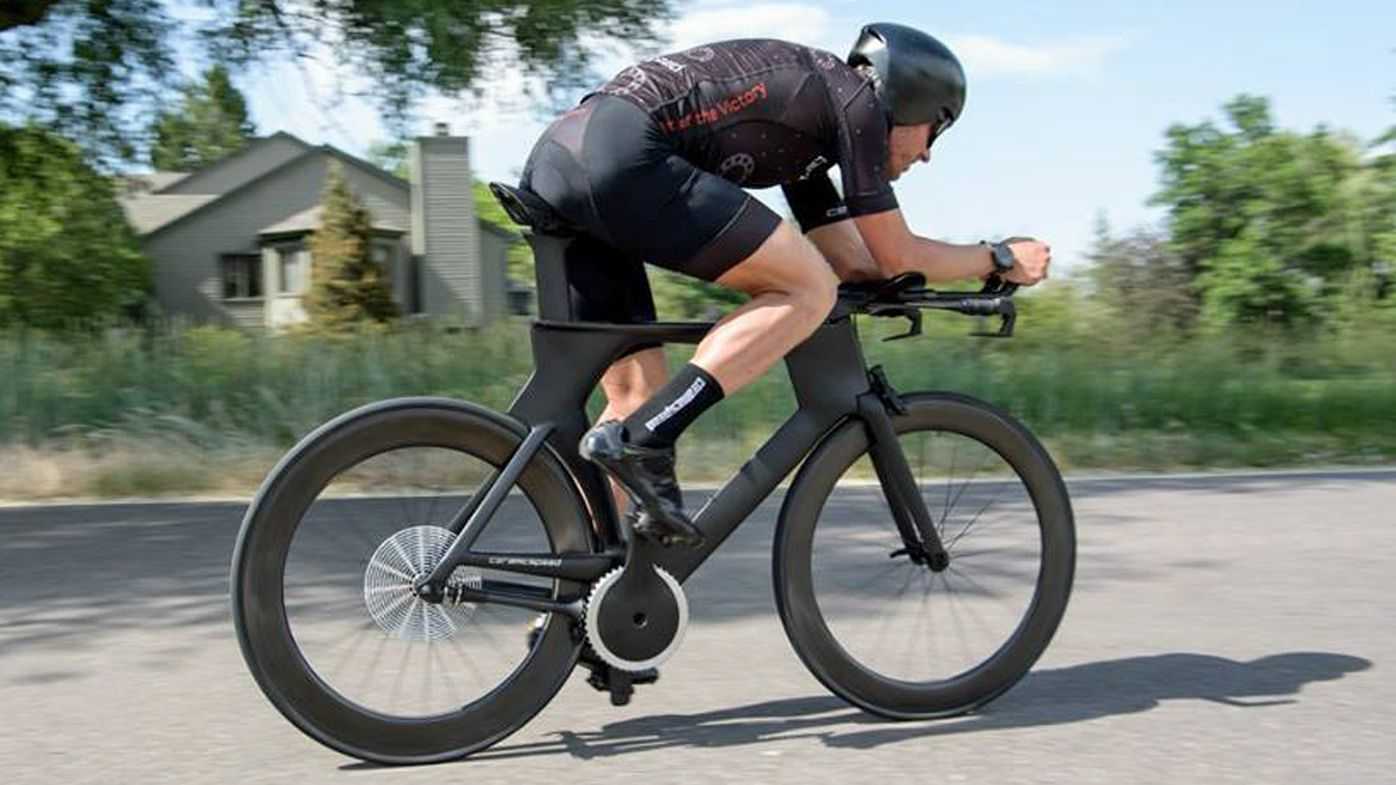 Futuristic chainless bike set to change cycling forever