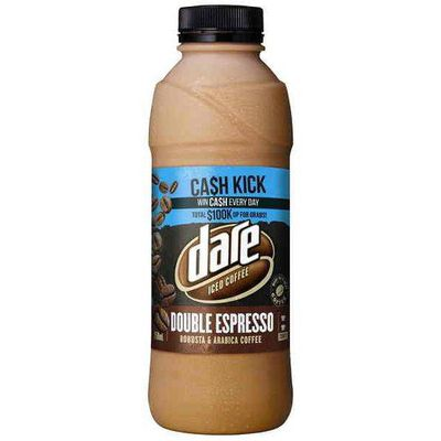 <strong>750ml Dare Double Espresso flavoured milk (69.8 grams of sugar)</strong>