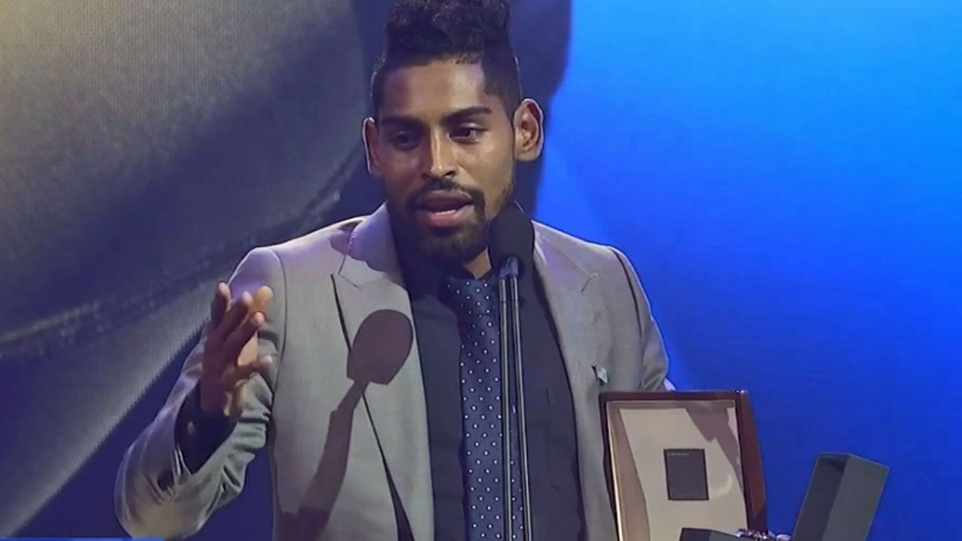 'Growing up in a village, I never dreamed of getting this': Roy Krishna honoured with Johnny Warren Medal