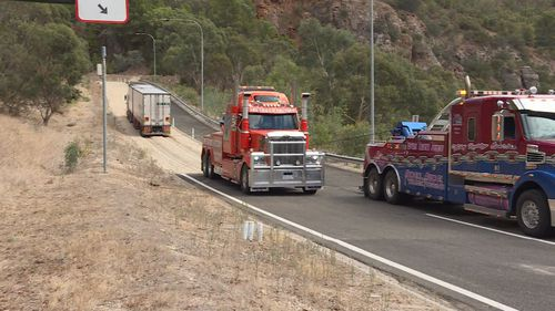 The freeway is notorious for truck accidents with legislation stating that trucks must be driven in low gear to prevent the risk of an accident.