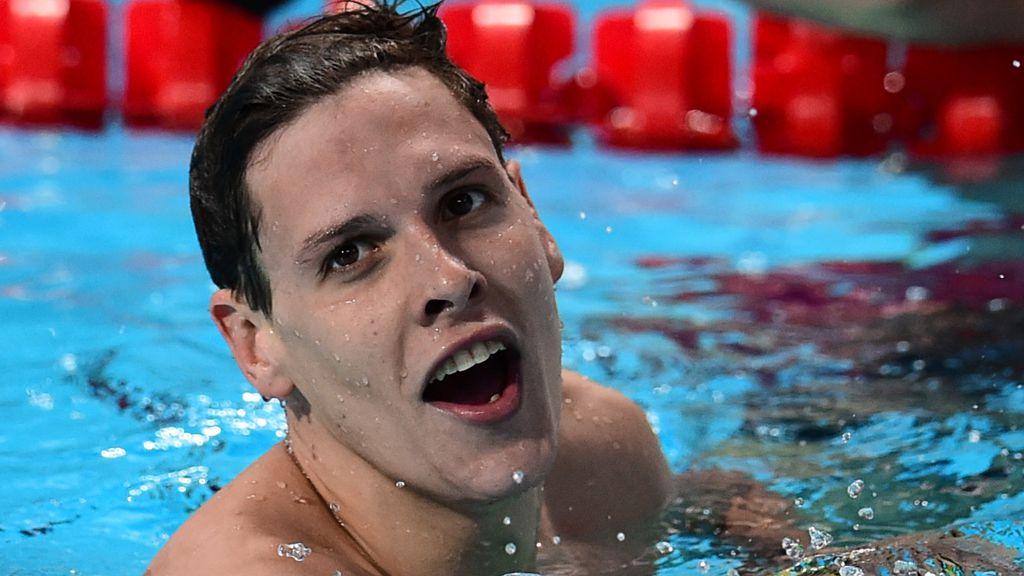 Swimmer Mitch Larkin