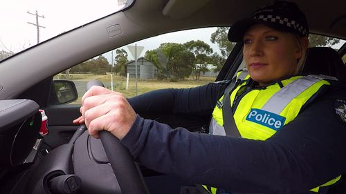 Senior Constable Annie Coobs is the only cop in Culgoa