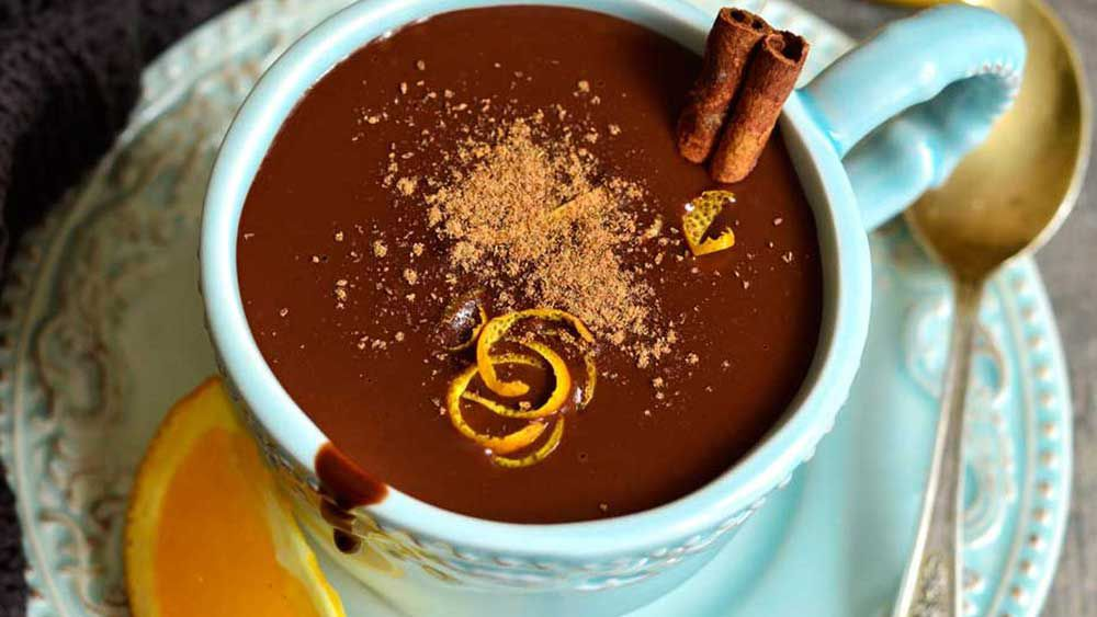 Oh! Boo's hot chocolate